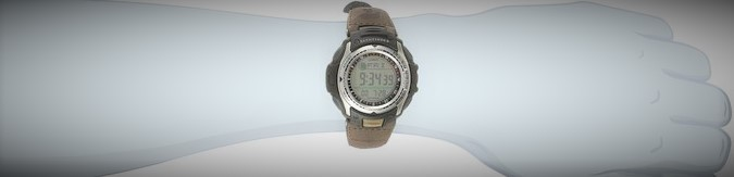 Casio Men's PAS400B-5V 'Pathfinder' (1)
