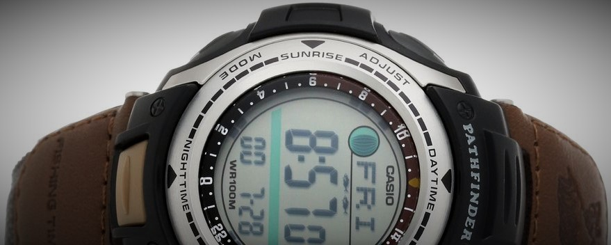 casio pro trek men s pas400b 5v review fishing tips guru